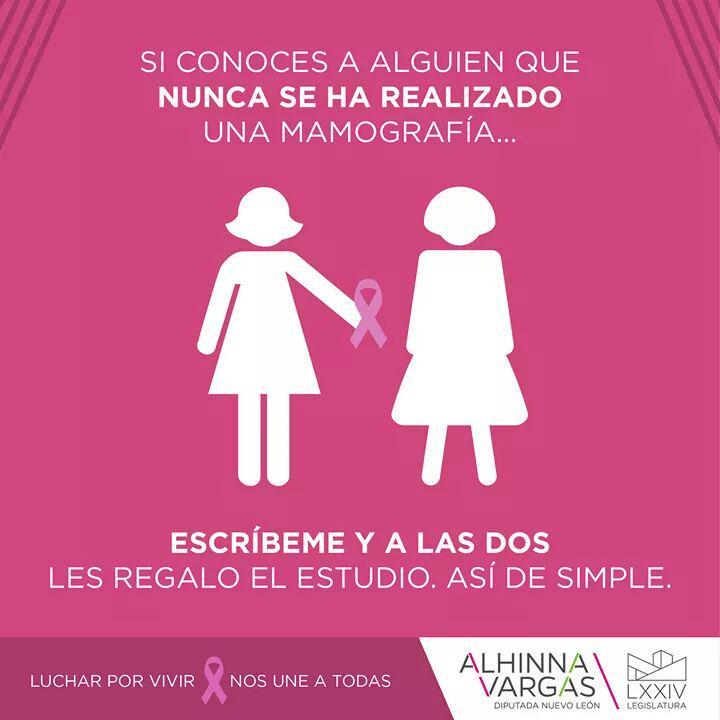 Alhinna Vargas (@AlhinnaVargas): Trabajemos juntas la cultura de Prevención. Manda tu correo a alhinnavargas@gmail.com #LucharPorVivirNosUneATodas http://t.co/KS9b11eGky