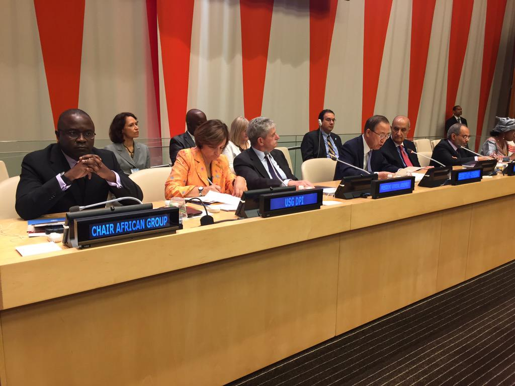 #UNAfricaWeek15 starts today at the #UN Headquarters http://t.co/RjDv6yaxgP