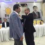 CHP ve MHPden Ak Partiye geçiş yapan hemşehrilerimize rozetlerini taktık, hayırlı olsun. http://t.co/fFDVBjyRZU