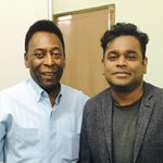 With the awesome @Pele in Calcutta...! http://t.co/vNJ3fLSxxr
