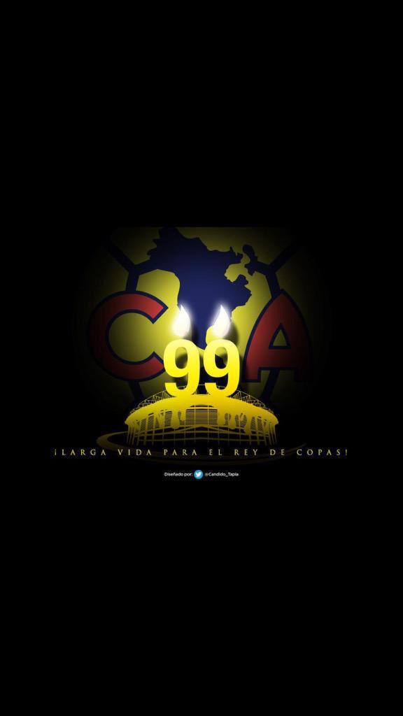 LARGA VIDA PARA EL REY DE COPAS ....felicidades @CF_America por sus 99 años de historia