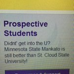 Well, at least theyre honest ???? #hacked @MNSUMankato http://t.co/Mw9Cp9woJX