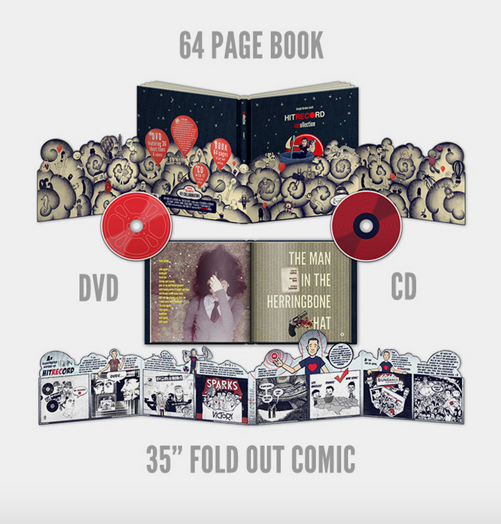 RT @hitRECord  Our 1st ever anthology's got a DVD, CD + a book (and it's on sale!) --- http://t.co/B1J2Taz2Kt http://t.co/E6CUMHU3hO