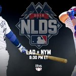 The Big Apple gets the big stage in less than an hour. @Dodgers at @Mets on TBS: http://t.co/hOYgRh6ZsV #NLDS http://t.co/IMYsDA7L8F
