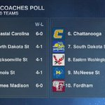 McNeese State Cowboys in the top 10 nationally. #GeauxPokes http://t.co/eJhnnGrnOY
