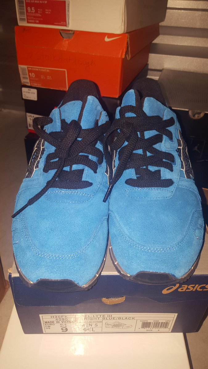 Asics gel lyte 3 x extra butter sz 9 8.5/10  175 shipped RTs much appreciated http://t.co/MkOEW8x79g