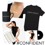 #CONFIDENT deluxe album, t-shirt, necklace, tattoos & MUGS...because ya know...I like mugs 😏 http://t.co/wsrLpvm3in http://t.co/TyXNYgk7pO