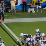 Sarah Thomas became the 1st female to ever officiate a #MNF game, correctly called a TD on LeVeon Bells score. http://t.co/UzLKuFbnQm