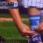 Trevor Cahill rocking #Dodgers socks: Accident, or epic troll move? http://t.co/6dnAi1Z7Sj