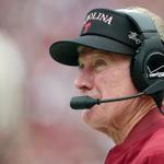South Carolina coach Steve Spurrier is retiring, per @ThayerEvansSI http://t.co/DYzMXveAJr