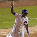 Jorge Soler this #postseason: BB 2B HR BB BB BB BB 1B HR Watch tonights blast: http://t.co/epmGh6k6LI @Cubs #NLDS http://t.co/ypIwkvhUPa