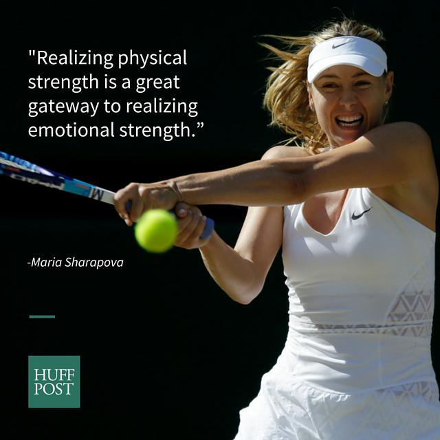 RT @HuffPostSports: Maria Sharapova shares 6 tips to be a stronger, more bad-ass woman http://t.co/wy2lcvWknH http://t.co/DXbM6WcR5U