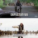 Expectativa VS Realidad ???? #TWD #TWD6enFOX #TheWalkingDead #TheWalkingDeadSeason6 http://t.co/JJ25dBHG6G