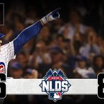 .@Cubs set #postseason record with 6 HRs to take #NLDS lead over Cards: http://t.co/IXYz2VFk64 #OwnOctober http://t.co/TEsxxqDLtG
