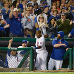 Home Run Party at Wrigley! FINAL: the @Cubs mash 6 homers, defeat the Cardinals 8-6 for the 2-1 #NLDS lead. http://t.co/psltS9YAE8