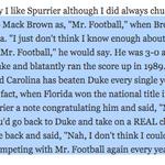 Steve Spurrier trolling Mack Brown was my favorite Steve Spurrier: http://t.co/hrwbYBWG6n http://t.co/6R6BrPL1d2