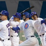 Cubs hit MLB record 6 home runs in a postseason game, defeat Cardinals, 8-6. Chicago takes 2-1 series lead. http://t.co/mPK8hr0YRL