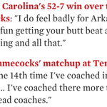 Let's revisit some of the best Spurrier quotes: http://t.co/A8egrwbIBK http://t.co/R0mN4DEJFg