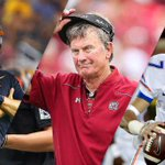 Wild day in CFB: -USC fires Steve Sarkisian -Steve Spurrier retires -Florida QB Will Grier suspended for PED use http://t.co/t9VVWqx6nM