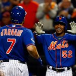 The @Mets jump way ahead 10-3 in the 4th after a massive 3-run homer Yoenis Cespedes. #NLDS http://t.co/YLIZrgNr8Z
