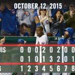 #Cubs hammer #postseason record six homers, take 2-1 #NLDS lead over Cards. Recap: http://t.co/azqwDPw5MA #FlyTheW http://t.co/BsA280tB7Q