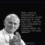 RT https://t.co/FPqGfo7LrP MsJAmericanLit: RT ConnectCatholic: Wise words by Saint John Paul II. #Pray http://t.co/L9D2LICZ9J