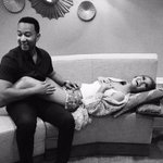 Congrats to @johnlegend & @chrissyteigen on their pregnancy news! (& to their baby for winning the genetic lottery) http://t.co/u84AqbeY4H