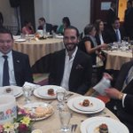 Compartiendo con El Alcalde de San Salvador @nayibbukele  y Don Boris Eserski en La 45° Asamblea General de @air_iab. http://t.co/rOVJ4hGydV