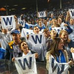 Rumor has it @Cubs has another pair of tickets to give away tomorrow morning.  Lets say 9-10 a.m. CDT? #FlyTheW http://t.co/SS3daLALU8