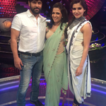 #AyudhaPooja Spl #KWDD program on @vijaytelevision with #ChiyaanVikram & @Samanthaprabhu2
