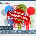 Incumplimientos de la #AgendaDelCambiazo firmada ante notario #Extremadura http://t.co/n95eFgl9LG