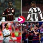 NYHET: La Liga och Serie A på Viaplay, med start till helgen. Dessutom Ligue 1 från och med nästa säsong. http://t.co/amPfWfnfOr