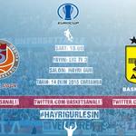 #Euroup 1. Maç - Trabzonspor Medical Park - Aris  Saat: 19.00 Yayın: Lig Tv Tarih: 14 Ekim Çarşamba Salon Hayri Gür http://t.co/dPcCaoekJC