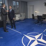 Met with @jensstoltenberg to discuss Turkey & Syria. Preparing for #EUCO on migration & #refugeecrisis this week. http://t.co/pZH8WcbsZt