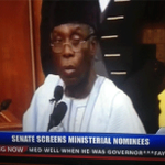 Ogbeh avoids question on his forced resignation as PDP chair by OBJ http://t.co/iVN1ESDHH7 #MinisterialScreening http://t.co/weOEKQumwd