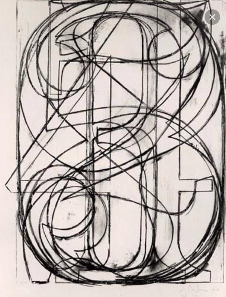 J.Johns 0 through 9 1960 #ArtePerLArte @PatriziaRametta @francescabattis @erminiopasquat @VicoLudovico @lagatta4739 http://t.co/fbljCRKXLB