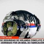 Holanda dice que informe del avión MH17 concluyó que fue derribado por un misil BUK de fabricación rusa. http://t.co/re9xrqujkY .@24h_tve