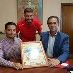 Presentada la campaña «Algeciras C.F., emblema de una Comarca» en Jimena de la Frontera. http://t.co/kh1C2L16h7 http://t.co/Tu0yce0r4Z