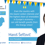 VP @MarosSefcovic takes the #EnergyUnion Tour to #Sweden today: http://t.co/VtHQ2iSxNY http://t.co/ffNPAkRsg4