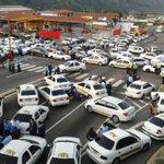 Colapsado tránsito de Mérida por protesta de taxistas contra la inseguridad http://t.co/KwFvvoDus7 http://t.co/wW9Y689iAf