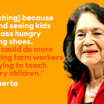 Today we celebrate Dolores Huerta—teacher, organizer, activist—for her civic leadership and trailblazing spirit. http://t.co/5rWRDcy3O1
