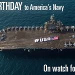 Today, we celebrate 240 years of the @USNavy and honor our heroes for keeping us safe. Happy birthday! #240NavyBday http://t.co/puhpiZnz7U