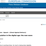 It would really, super, smashing, great if you could tell me WHO delivered the speech @EU_Commission tnxbye http://t.co/WOI5wM1E1b