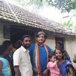 At the home of @IYC Kerala State GeneralSecretary Balu on the occasion of his son Agnimitras 1st birthday http://t.co/eafUcV29Z5
