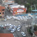 Protesta de taxistas en Mérida #MRD http://t.co/CBHvtc9cwL