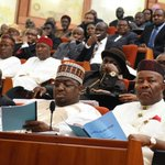 Pictures from the @NGRSenate floor from the #MinisterialScreening of #MinisterialNominees. http://t.co/9mt87VIWih
