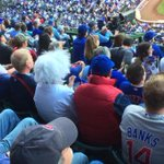 It looks like Doc and Marty were at Wrigley last night for the #Cubs Game 3 win: http://t.co/2hkl9JAfMJ #Postseason http://t.co/6GTQQUSzQP