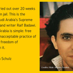 .@raif_badawi among nominees for 2015 #SakharovPrize. On Thursday we will know the final three http://t.co/eHYp1c2UfS http://t.co/MjKX4n3iOf