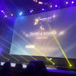 """Congrats to """"Diritti a scuola"""" #Italy for #regiostars award #inclusive growth #euopendays http://t.co/wcVOpN2cHB http://t.co/aLuDMTafRq"""