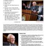 Five hours to Democratic debate time. Review info on Sen. Bernie Sanders here: http://t.co/iEd6VmbVRp